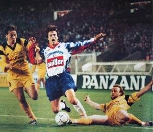 David Ginola visiblement fauché (HAC Foot Archives)