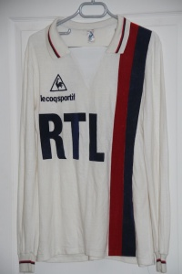 Maillot domicile 1984-86 (collection MaillotsPSG)