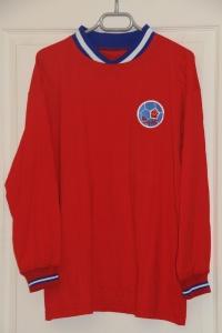 Réédition maillot domicile 1970-72, version hiver (collection MaillotsPSG)