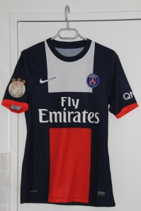 Maillot domicile 2013-14 (collection maillotspsg)