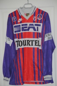 Maillot domicile 1993-94 (collection http://maillotspsg.wordpress.com )
