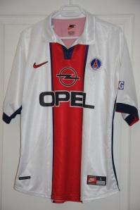 Maillot extérieur 1998-99 (collection MaillotsPSG)