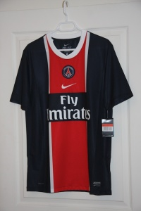 Maillot domicile 2001-12 (collection MaillotsPSG)