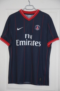 Maillot domicile 2009-10 (collection MaillotsPSG)