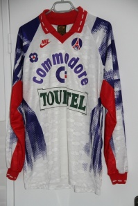 Maillot domicile 1992-93 (collection MaillotsPSG)