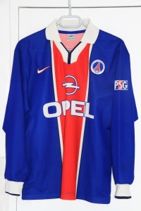 Maillot domicile 1997-98 (collection MaillotsPSG)