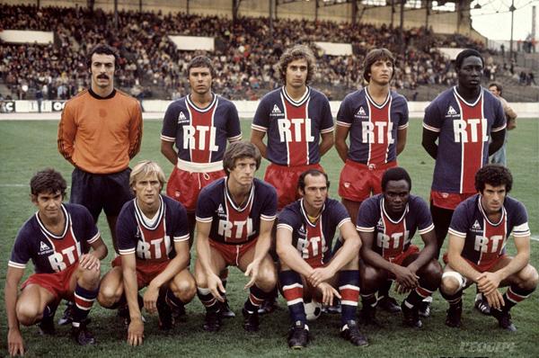 Bernard, Redon, Renault, Pilorget, Adams, Brisson , Justier, Larqué, Bianchi, M'Pelé, Dalheb
