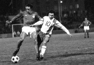 Jean-Louis Léonetti à la lutte avec Di Nallo (archives MK)