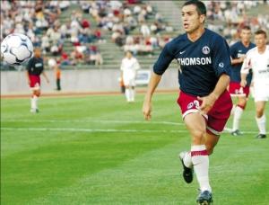 Toute première apparition de Pedro Pauleta sous nos couleurs! (archives MK)