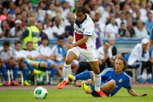 Photo Ch. Gavelle, psg.fr (voir en taille originale : http://www.psg.fr/fr/Actus/105003/Galeries-Photos#!/fr/2013/2610/35667/match/Real-Madrid-Paris-1-0/Real-Madrid-Paris-1-0)