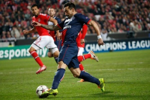 Photo Ch. Gavelle, psg.fr (voir la photo dans sa taille originale : http://www.psg.fr/fr/Actus/105003/Galeries-Photos#!/fr/2013/2732/37546/match//benfica-paris-2-1 )