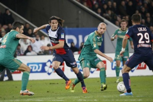 Psg saint etienne 2 1 ap 18 12 13 coupe de la ligue 13 - Paris saint etienne coupe de la ligue ...