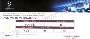 1314_PSG_Olympiacos_CL_ticket