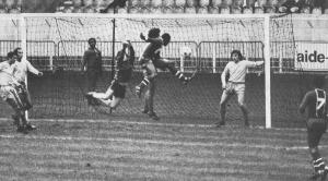 L'égalisation de François M'Pelé à la 8ème minute