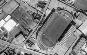 Vue aérienne du stade Jean-Bouin
