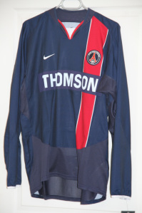 Maillot domicile 2003-04 (collection MaillotsPSG)