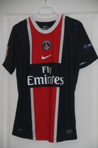 Maillot domicile 2011-12 (collection MaillotsPSG)