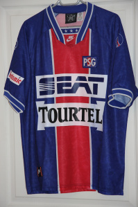 Maillot domicile 1994-95 (collection MaillotsPSG)