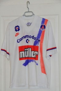 Maillot domicile 1991-92 (collection MaillotsPSG)