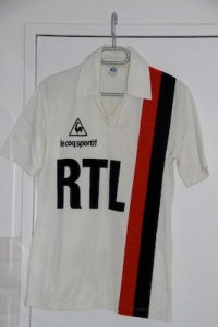 Maillot domicile 1981-83 (collection MaillotsPSG)