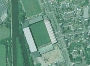 Le stade de la Route de Lorient en travaux