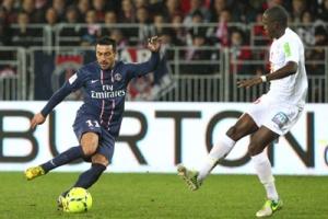 Photo Ch. Gavelle, psg.fr (photo en taille originale : http://www.psg.fr/fr/Actus/105003/Galeries-Photos#!/fr/2012/2426/32405/match/brest-paris-0-3/brest-paris-0-3)