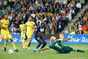 Photo Ch. Gavelle, psg.fr (photo en taille d'origine: http://www.psg.fr/fr/Actus/105003/Galeries-Photos#!/fr/2013/2642/36153/match/nantes-paris-1-2/nantes-paris-1-2)