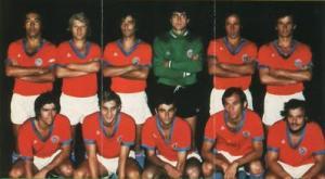 L'équipe avant le match (archives MK)