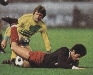 Mustapha Dahleb à terre, à l'image du PSG battu par Nantes