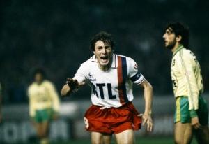 La joie de Luis Fernandez après son but