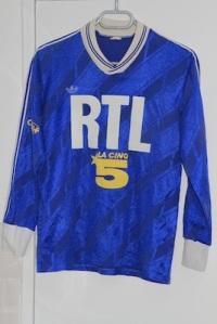 Maillot extérieur 1988-89 (collection http://maillotspsg.wordpress.com)