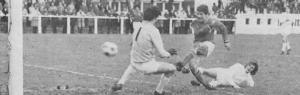 L'ouverture du score de Jacques Rémond (archives MK)