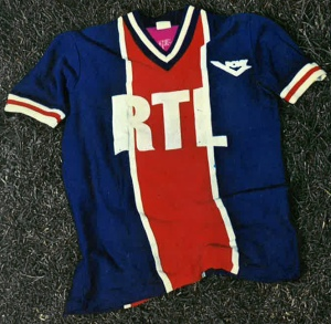 """Maillot domicile """"été"""" 1977-78"""