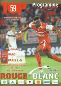 1314_Valenciennes_PSG_programme