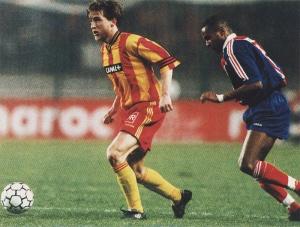 Didier Domi à la poursuite d'un lensois