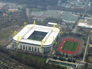 Le Westfalenstadion (nom officiel Signal Iduna Park)