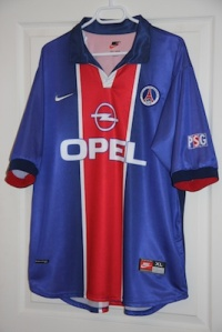 Maillot domicile 1998-99 (collection MaillotsPSG)