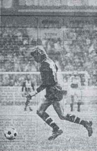Les débuts de Lionel Justier dans l'équipe première...