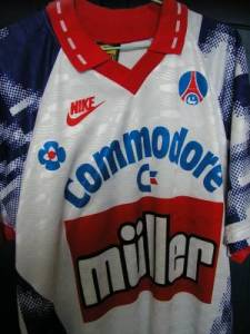 Maillot à domicile 1991-92, 2nde version