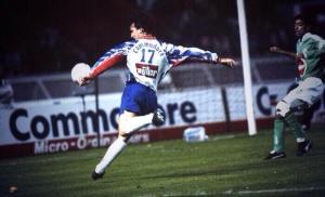 David Ginola (archives Histoire du PSG)