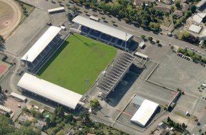 Le stade Gaston-Petit