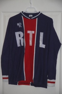 Maillot domicile 1976-77 (collection MaillotsPSG)