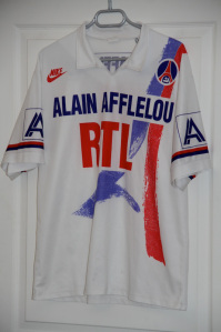 Maillot domicile 1990-91 (collection MaillotsPSG)
