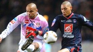 Guillaume Hoarau, qui marquera le dernier but parisien dans les arrêts de jeu