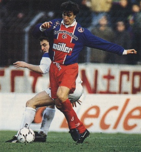 David Ginola, le néo-parisien