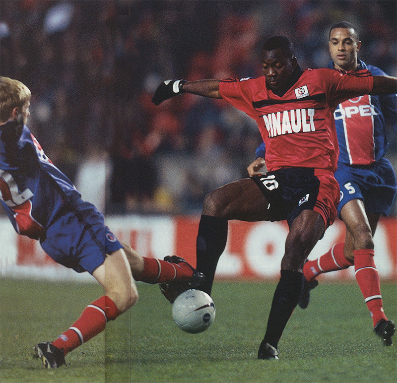 Psg rennes 2 1 20 11 98 division 1 98 99 archives for Division 2 table 98 99