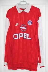 Troisième maillot 1996-97 (collection MaillotsPSG)
