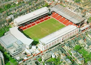 Le stade d'Highbury