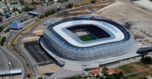 Le stade de l'Allianz Riviera