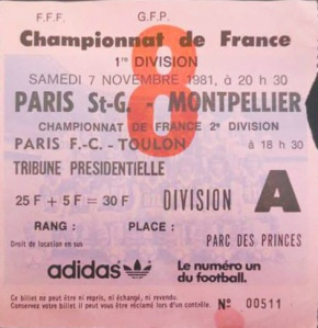 (Collection Tickets PSG)